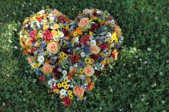 Wiesenblumen-Herz