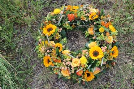 Sonnenblumen Sommerkranz